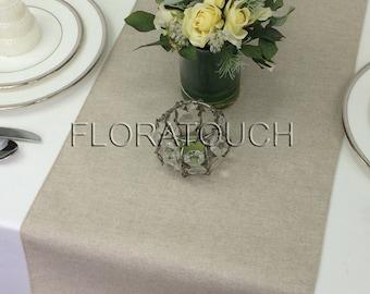 Solid Linen Table Runner Wedding Table Runner