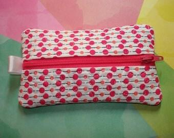 Kleenex Holder ZIPPERED BAG  Tissue Bag  Great Gift Idea for Moms and Teachers