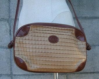Gucci Leather Purse Vintage 1980s Authentic