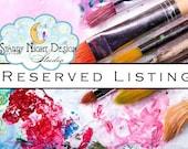 Aisle runner - Reserved listing for Brandie