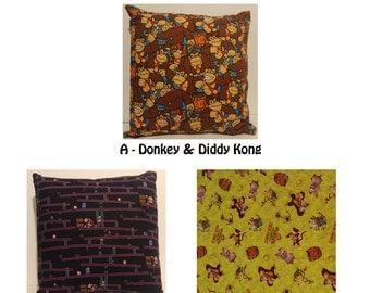Nintendo Donkey Kong Theme Pillow Cushion Covers