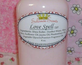 Love Spell type Shea Butter Lotion