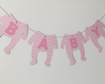 Baby Banner - Baby Shower - Photo Prop
