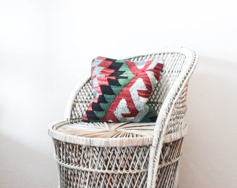 Turkish Woven Pillow in Electric