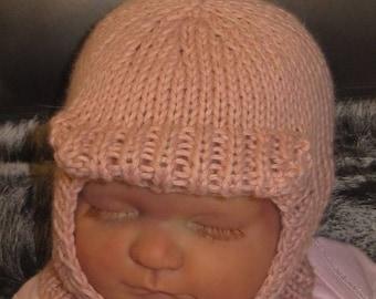 50% OFF SALE digital file download knitting pattern only-madmonkeyknits Baby Soft Peak Balaclava pdf knitting pattern