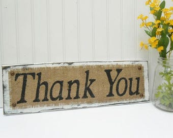 BUSINESS SIGN, Thank You, customer appreciation