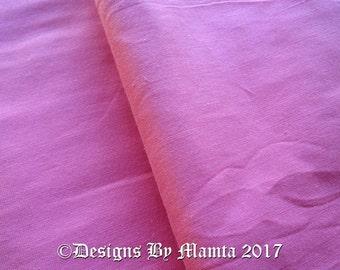 Rose Pink Dupioni Silk Fabric By Yard, Quilt Sewing Cherry Blossom Pink Fabric, Art Silk Fabric, Pink Art Silk Fabric, Indian Fabrics
