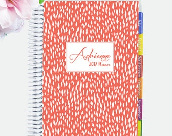 NOTEBOOK Planner 2017 - 2018 Personalized and Custom