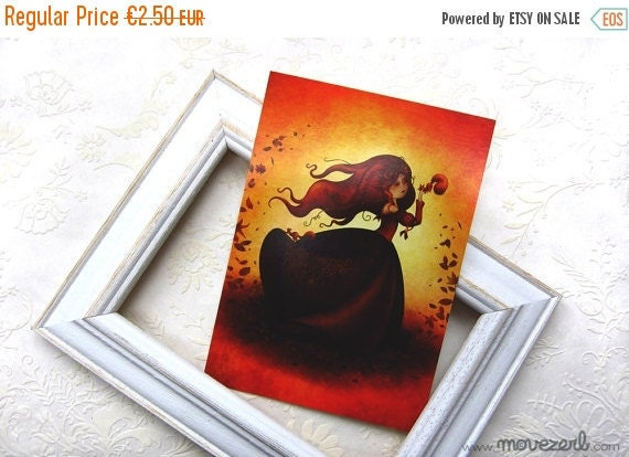 Spring cleaning sale Mabon - Postcard