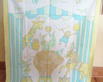 Big Top Dreamis Quilt Panel by Susan Winget Size 38 X 44