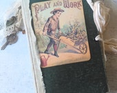 Play and Work, Junk Journal, Mixed paper journal, smashbook