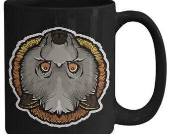 Grey-headed Flying Fox Megabat Fruit Bat Coffee Mug