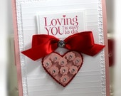 Stampin' Up Loving You Card