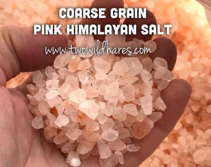 12lb PINK HIMALAYAN Sea Salt, Coarse Grain