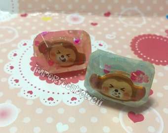 Monkey Jewel Ring
