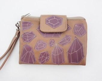 womens wallet embellished clutch travel wallet credit card wallet carryall wallet minimalist wallet cyber money wallet iphone 7 wallet gift