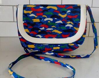 Vintage Crossbody Bag Multicolor