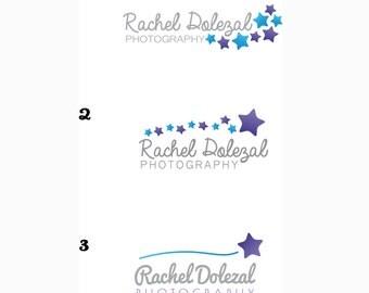 Custom Logo for photographer or other creative STARS
