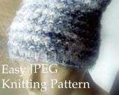 Beanie Knitting Pattern Easy DIY Hat Tutorial Kawaii Ears Knit Easy Circular Knitting Pussy Hat Project Instant Download Sell What You Make
