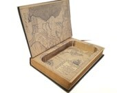 Hollow Book Safe Now Origins of the American Revolution Cloth Bound vintage Secret Compartment Security hiding place