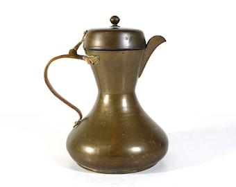Vintage Brass Kettle