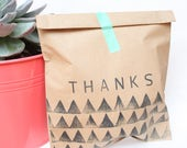 TRIBAL, BOHO Party Favour Bags - Boho, Tribal pow wow Wild one PARTY, thank you party bags x 10