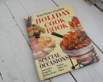 Vintage 1959 Better Homes and Gardens Holiday Cook Book