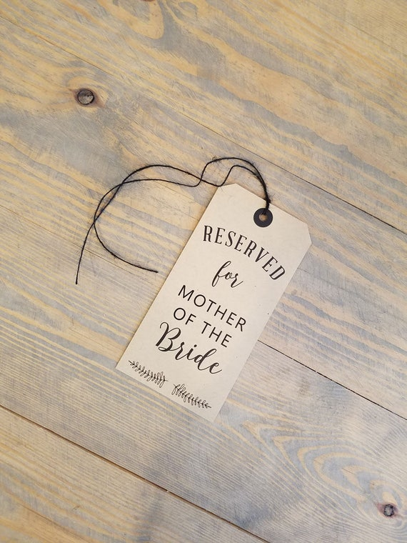 Rustic Reserved Chair Tag, kraft black reserved chair tags, reserved signs for chair, reserved chair sign, reserved chair signs,