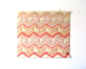 Vintage Don Freedman Woven Wall Hanging