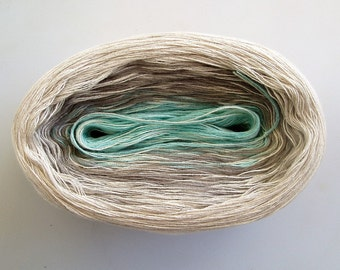 POLAR MEDLEY II - Color Changing Cotton yarn - 480 yards/100 gr - Fingering Weight
