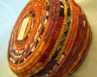 Orange Red Purple Pink Marcia Derse Fabric Basket