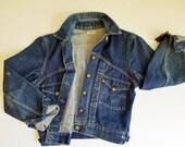 1950s Vintage Jean Jacket Big Smith BUCKAROO Denim Jacket Sanforized Vintage Blue Jean Jacket 50 Vintage Denim 40 Chest Vintage Workwear