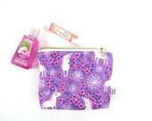 Ity-Bity Zipper Pouch - Unicorn - mini card wallet change pouch cable organizer coin purse Zip Wallet Money Wallet Change Purse