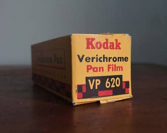 Vintage Kodak Verichrome Pan Film. Expired Film.