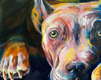 Loyal Friend, Oil Painting