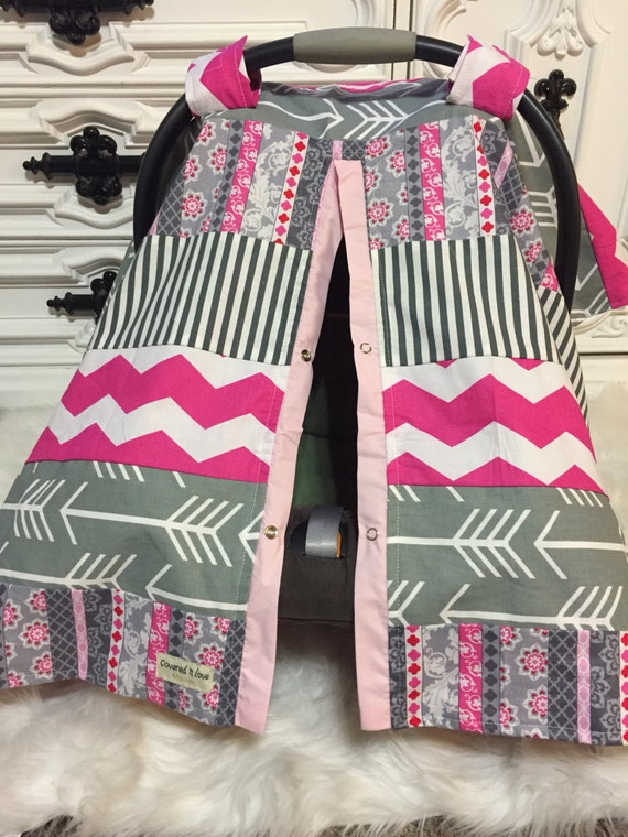car seat cover RTS / OOAK / car seat cover / nursing cover / carseat canopy / carseat cover
