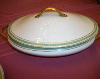 Selection Johnson Bros England Serving Platter ,  Covered bowl, oval bowl, butter dish, gravy boat