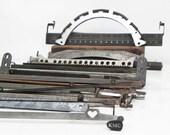 Lot 36 Salvaged Vintage Typewriter Parts Assemblage Craft Steampunk Supply
