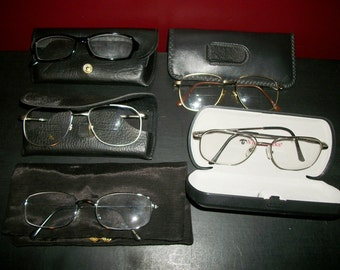 Vintage Eyeglasses Lot of 5