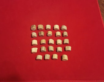 24 Antler Beads Mixed Lot 67