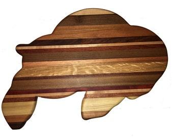 CU Ralphie Styled Cutting Board