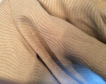 GOLD Olive Biege Woven WAVEY STRIPE Upholstery Fabric, 02-44-02-089