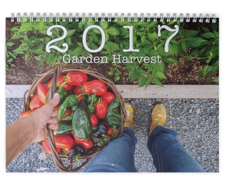 2017 Garden Harvest Calendar