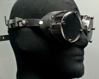 Machined Aluminum Goggles- Black