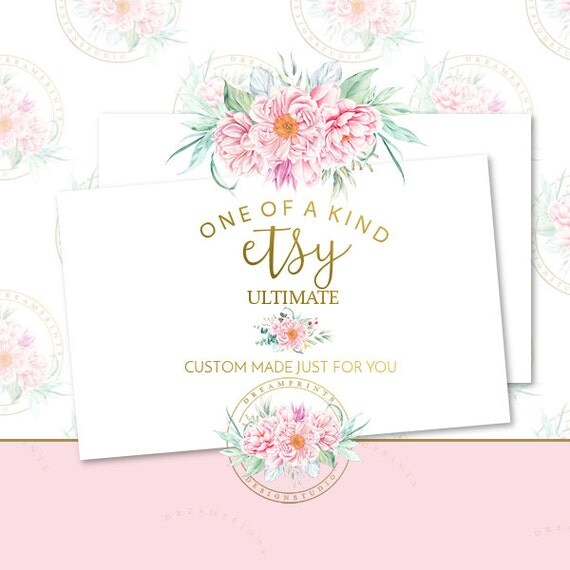 Custom-One Of A Kind Etsy Ult. Shop Set | Business Branding | Business Package | Etsy Shop | Small Business | Etsy Graphics | Etsy Designs