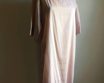 70s Coco California Blush Pink Tunic Dress • Deadstock Dress