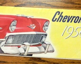 original 1956 Chevorlet sales brochere