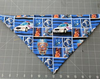 Dog Bandana, Police, Law Enforcement, Officer, Badge, neckerchief, scarf