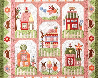 Bunny Town Quilt Kit