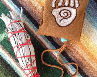BEAR SPIRIT Keeper of Dreamers and Healers Lodge - sacred medicine bundle